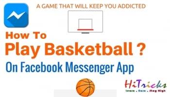SECRET Trick to Play Basketball on Facebook Messenger