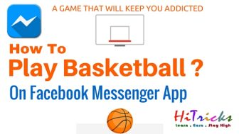 SECRET Trick to Play Basketball on Facebook Messenger