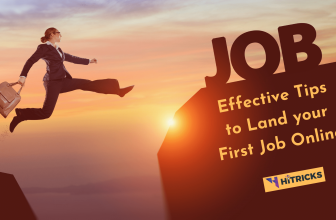5 Effective Tips To Land Your First Job Online