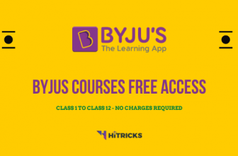 Get Byjus Courses Class 1-12 FREE till 30 April