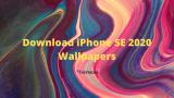 iPhone SE 2020 Stock Wallpaper Free Download