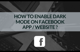 Guide: How to enable 'Dark Mode' on Facebook App/Website?