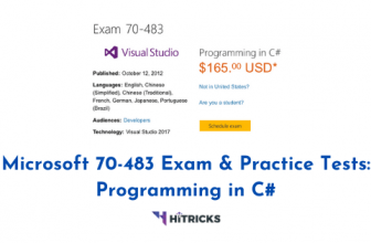 Microsoft 70-483 Exam and Practice Tests: Why Do You Need to Speed Up the Process of Earning Your Certification until June 30, 2020?