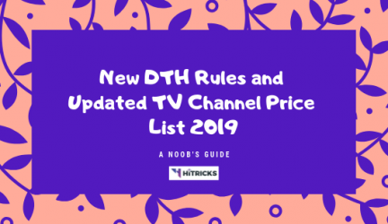 GUIDE: New TRAI DTH Rules and All Cable Channels Price List 2019