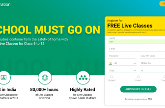 Get all Meritnation Live Classes and Courses for Free